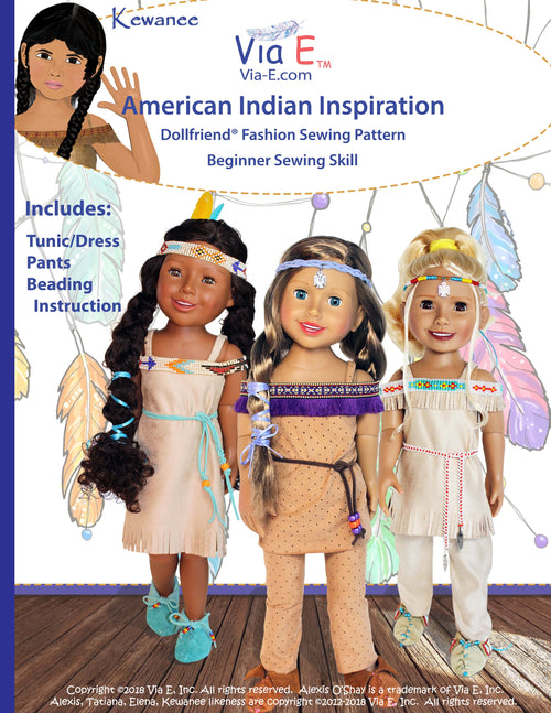American Indian Inspiration Sewing Pattern