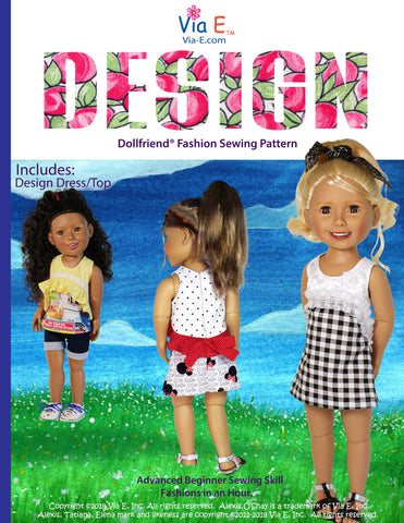 School Time in Japan Easy Sew PDF Pattern