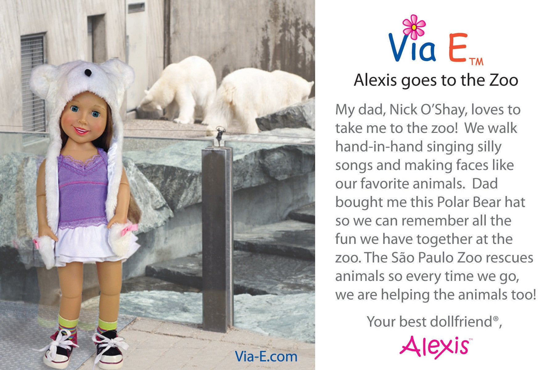 Alexis Goes to the Zoo