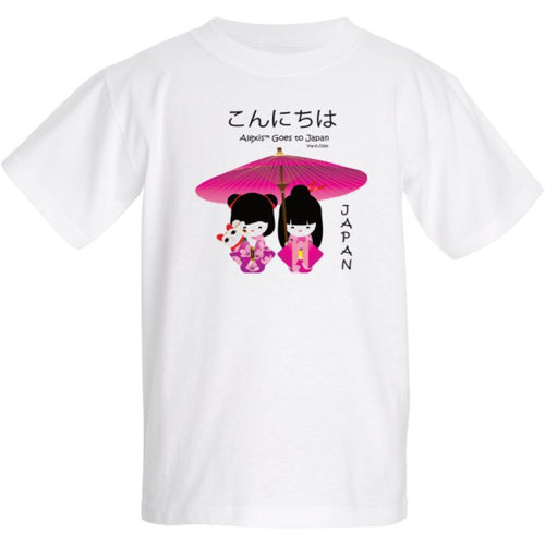 Alexis Goes to Japan T-shirt for Adults