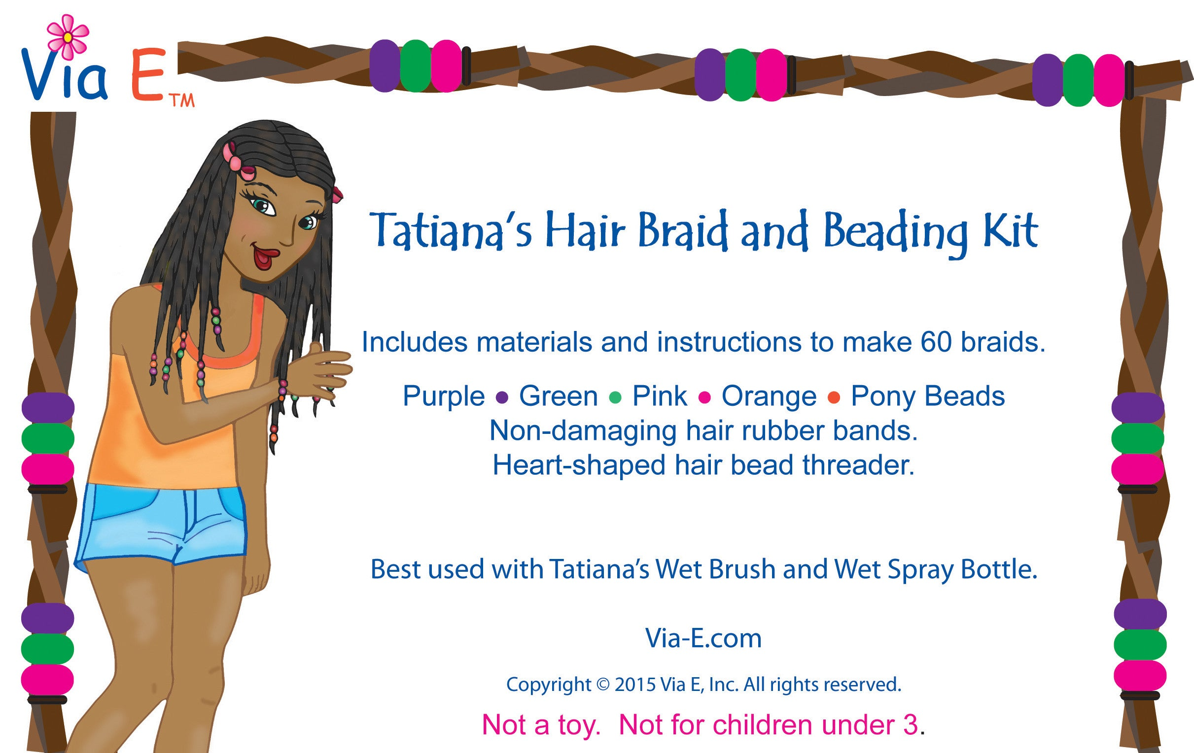 Tatiana's Hair Beading Kit