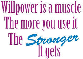 How to develop your willpower