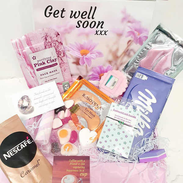 get well soon gift hug in a box