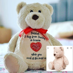 memory bear with ashes