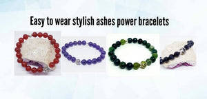 cremation ashes jewellery