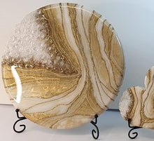 breast milk geode art