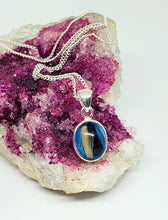Petite oval - hair/fur pendant - offer for two in the menu - colour choice