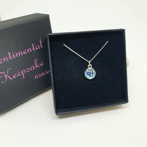 Permanent price drop - Petite and sweet ashes pendant with glass dome (colour option) BEST SELLER