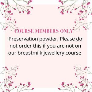preservation for course members ONLY