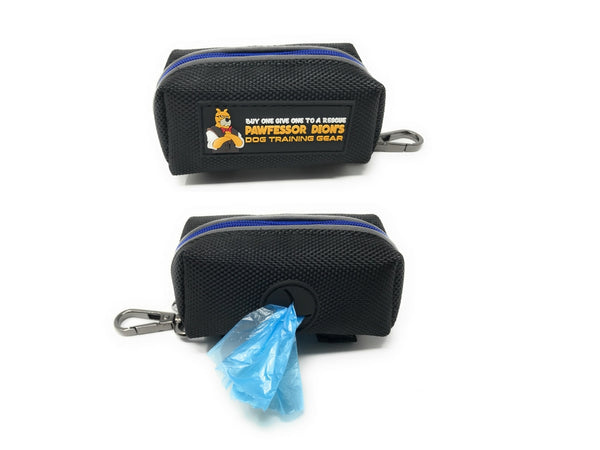 Pawfessor Dion's Reflective Dog Poop Bag Holder Leash Attachment