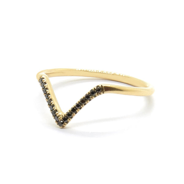 Natalie Marie Jewellery - Diamond Point Ring