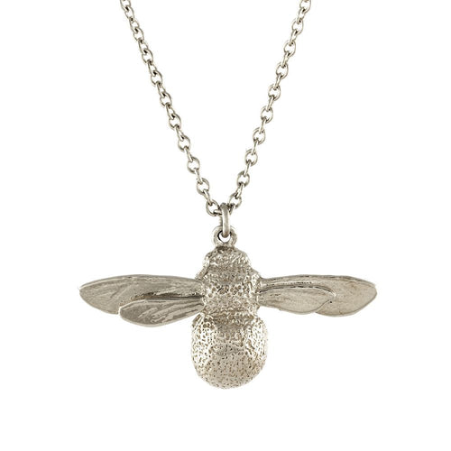 Alex Monroe - Baby Bee Necklace - Silver