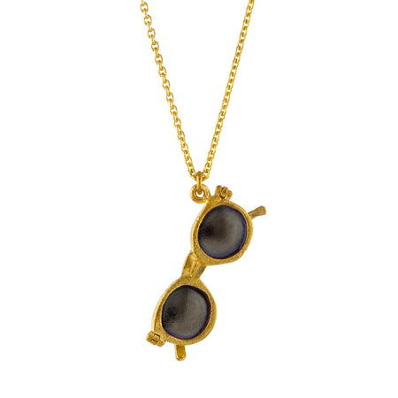 Linda Tahija - Heart Necklace - 9ct Yellow Gold