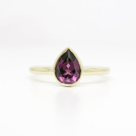 By Brianna Yvonne - Mahi Sapphire and Diamond Ring