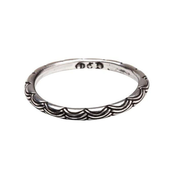 Digby and Iona - Wave Ring - Sterling Silver
