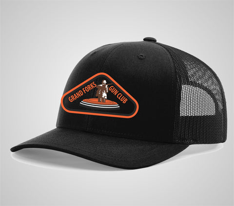 "Grand Forks Gun Club ""Blackout"" Trucker Hat"