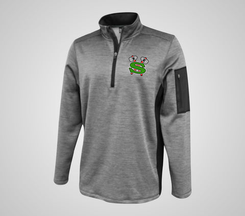 "GF Jr. Sioux ""Jetstar"" Team Quarter Zip - Adult Only"
