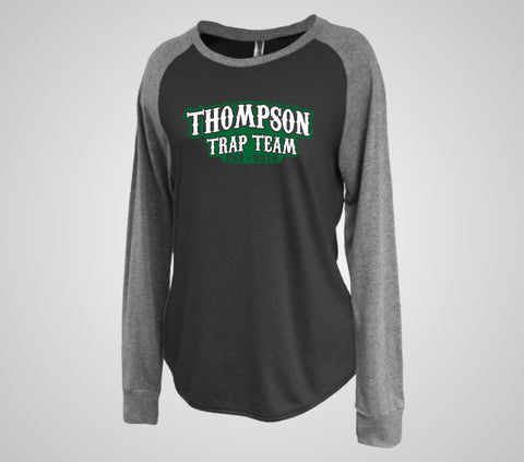 "Thompson Trap ""Establish"" Raglan Crew - Ladies Only"