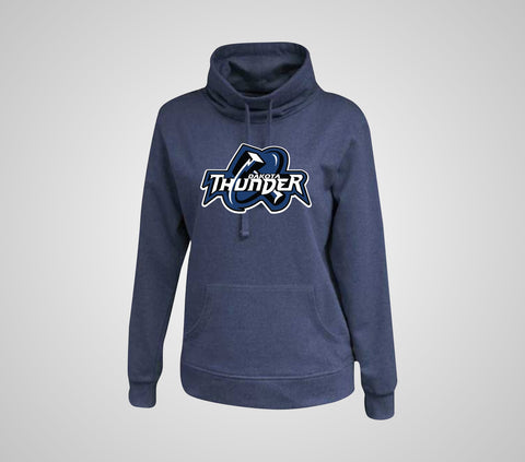 "Dakota Thunder ""Cowl"" Neck Ladies Hoodie"