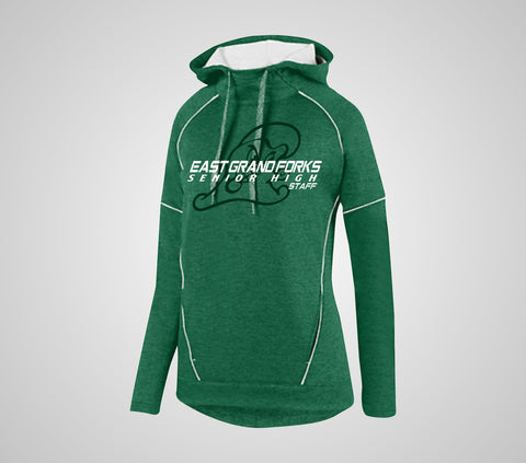 EGF Staff Ladies Heather Toanl Hoodie