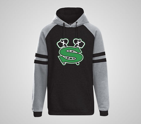 "GF Jr. Sioux ""Raglan"" In Play Hoodie- Youth/Adult"