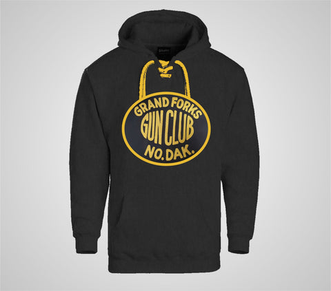 "Grand Forks Gun Club ""Laced"" Black Hoodie - Men's"