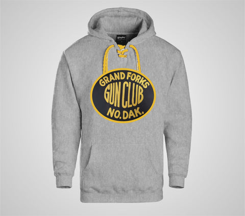 "Grand Forks Gun Club ""Laced"" Grey Hoodie - Men's"