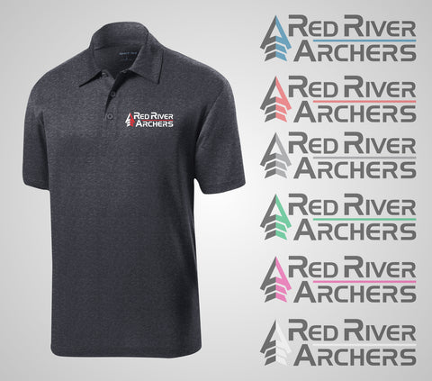 "Red River Archers ""Crest"" Polo"