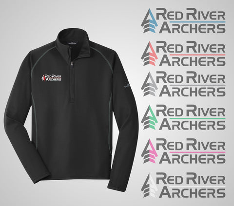 "Red River Archers ""Base Layer"" Eddie Bauer Quarter Zip"