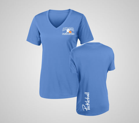 "Grand Cities Pickleball ""Performance"" Ladies V-Neck"