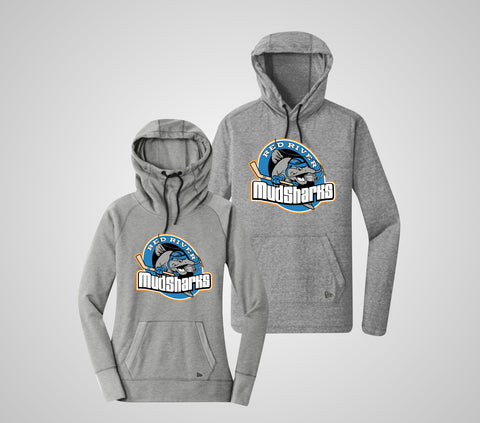 "Red River MudSharks ""New Era"" Tri-Blend Hoodie - Adult Only"