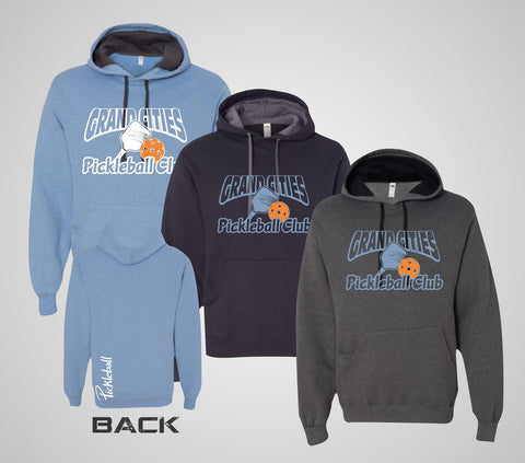 "Grand Cities Pickleball ""Softspun"" Hoodie"
