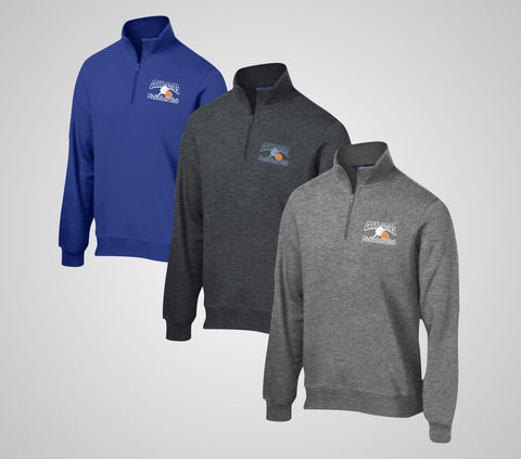 "Grand Cities Pickleball ""Sweatshirt"" Quarter Zip"