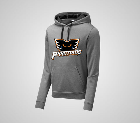 "Phantom Hockey ""PosiCharge"" Heather Hoodie - Adult Only"