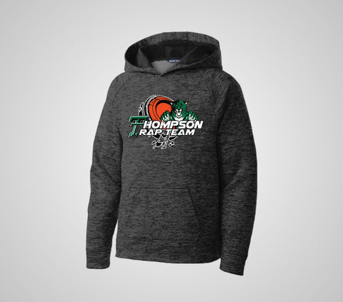"Thompson Trap ""PosiCharge"" Heather Hoodie - Youth/Adult"