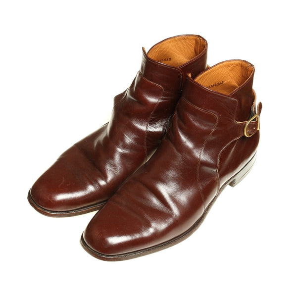 SOLD Mens 1960s Bostonian Buckled Ankle Boots - Return of the Living Threads
