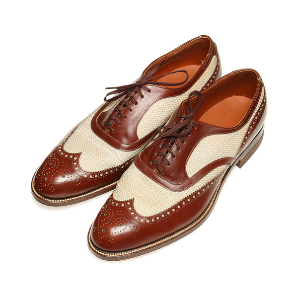SOLD Vintage 1940s Spectator Shoes Dr. Scholls Wingtips - Return of the Living Threads