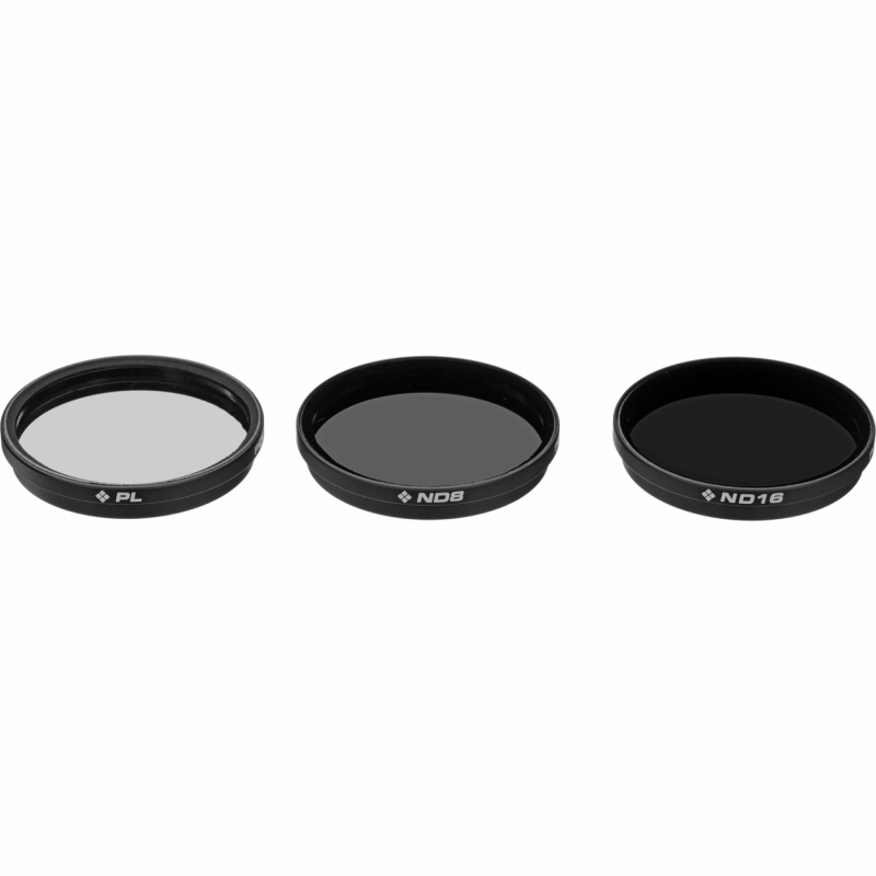 Filtros Inspire 1  Osmo  Osmo + Filter 3 Pack (cp Nd8 Nd16)