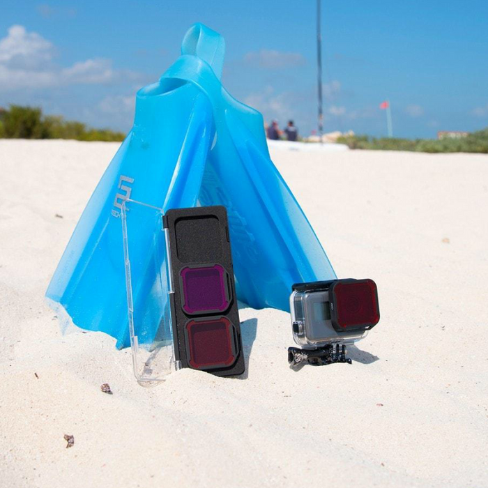 Filtros Aqua 3-pack | Gopro Super Suit