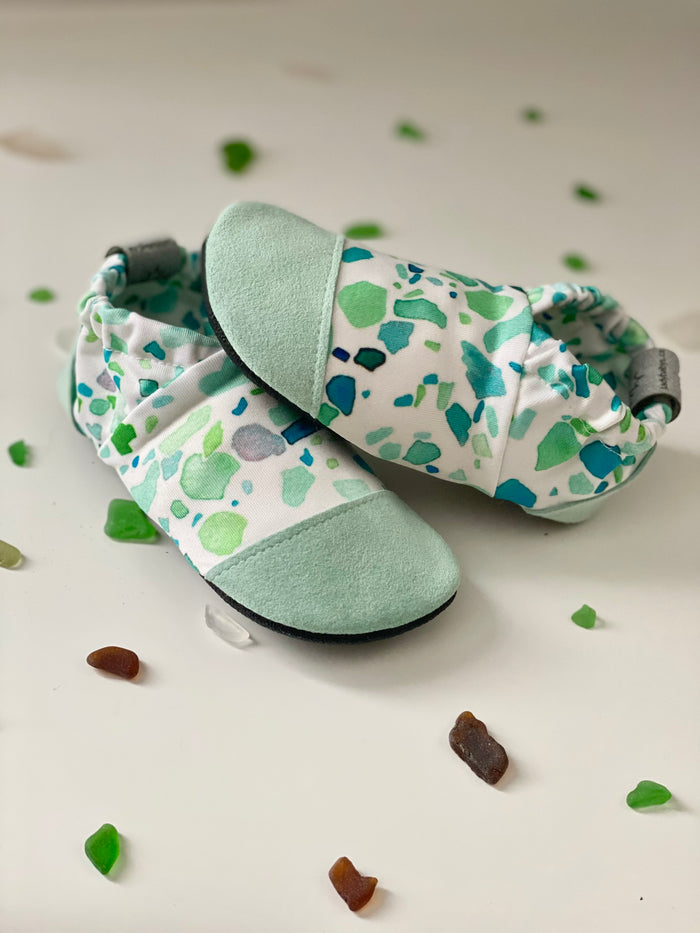 Water shoes - Sea Glass - Ready to ship
