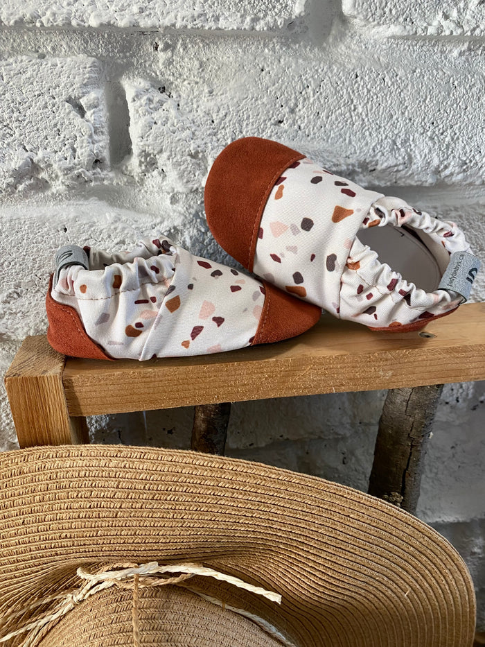 Water shoes - Terracotta Pebbles - Ready to ship