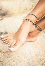 Onix Drop Anklet - Yarah Store