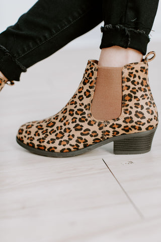 Cheetah All The Way Booties