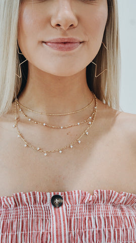 Triple Threat Necklace