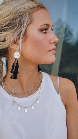 Blackout Tassels