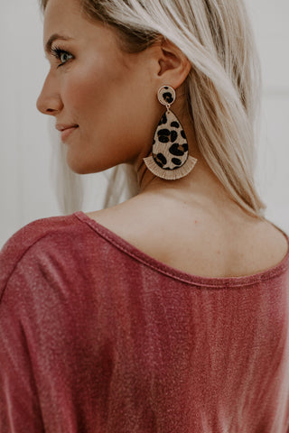 Feisty and Fun Drop Earrings