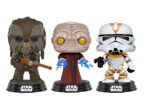 Clone Wars 3-Pack - Walmart EXCLUSIVE - Star Wars Funko Pop! Vinyl
