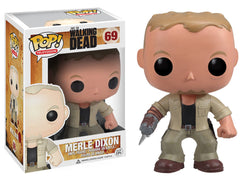 Merle Dixon - VAULTED/RETIRED - The Walking Dead - Funko Pop! Vinyl Figure