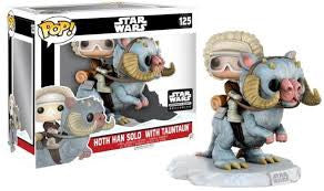 Hoth Han Solo with Tauntaun - Smuggler's Bounty EXCLUSIVE - Super-Sized Funko Pop! Vinyl