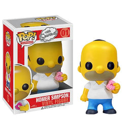 Homer Simpson - VAULTED/RETIRED - Funko Pop! Vinyl